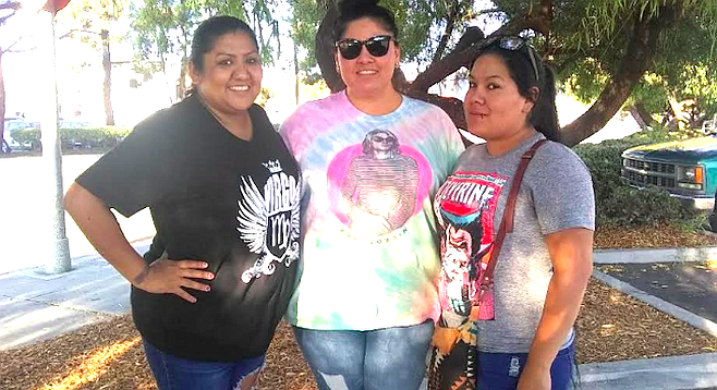 Jennifer Martinez, Tamara Coronel, and Anita Alejandre convinced Austin to call police.