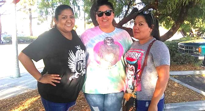 Jennifer Martinez, Tamara Coronel, and Anita Alejandre convinced Austin to call police.