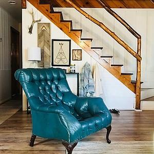 Emerald Cabin interior.