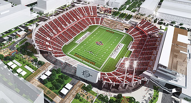 JMI was retained to draw up SDSU's plans.