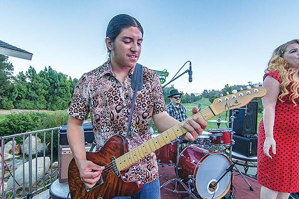 Anthony Cullins at Pala Mesa resort