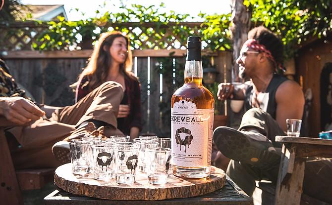 Peanut Butter Whiskey was born in Ocean Beach.