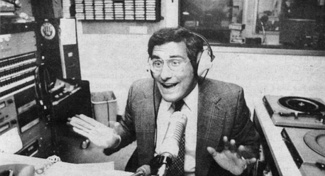 "Ted Leitner.  ""It took people a while to realize that Ted doesn't take himself seriously."""