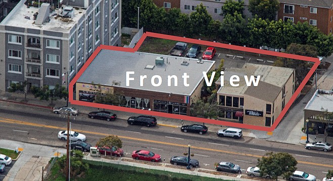 """1727 and 1731-35 University Ave. Now """"available for redevelopment."""""""
