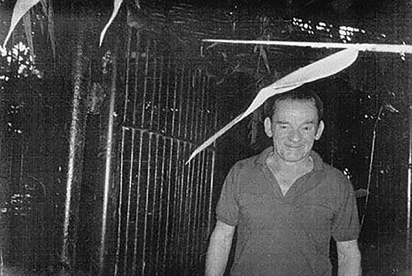 False photo of Carr in Laotian prison