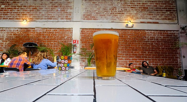 The stylish Telefónica Gastro Park is home to the first San Diego craft brewery in Tijuana.