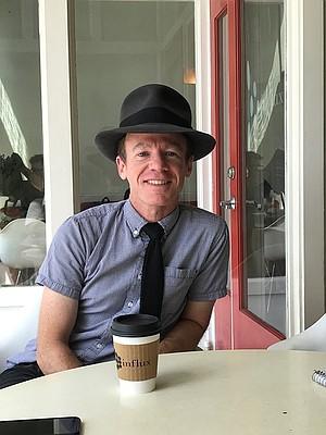 Filmmaker and animator Randall Christopher, a regular at Influx
