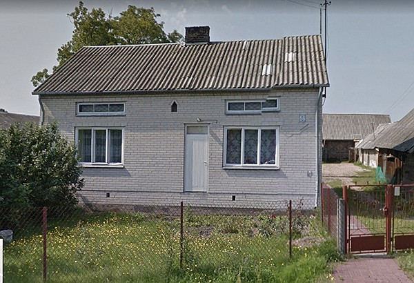 Though unused, the front doors remain on formerly Jewish-ownedhouses in Polish villages