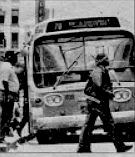 A major fare increase in 1978 and another in 1979 (fare for local service is now fifty cents) caused a decline in the number of riders.