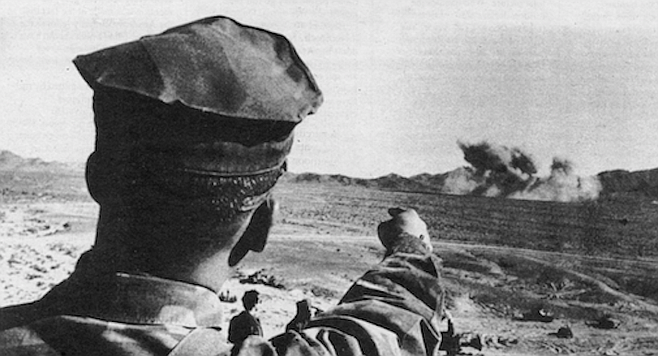 General Glasgow claimed that the desert battle would cost $120,000 or $500,000, depending on how you figured it.