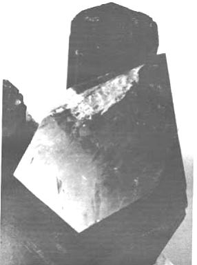 Louis Spaulding works his tourmaline, garnet, topaz mine by