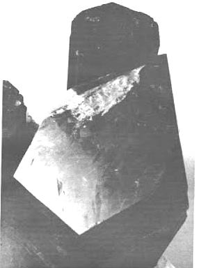 Tourmaline, quartz, topaz