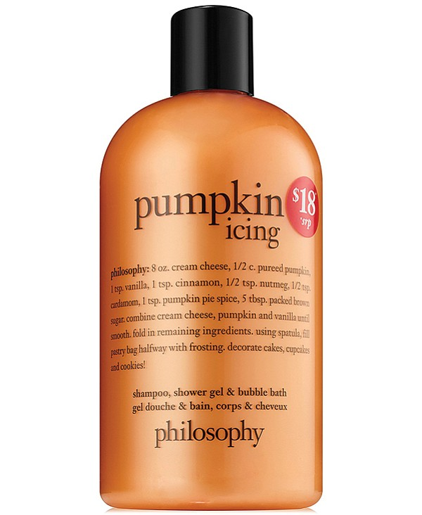 A pumpkin icing to get you in the mood!