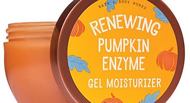 Pumpkin enzymes, oranger than regular enzymes.