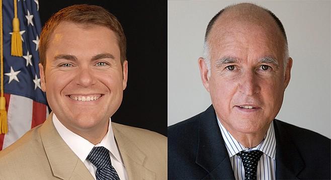 Carl DeMaio; Jerry Brown
