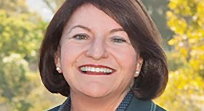Toni Atkins: fan of horse racing, and horse racing industry money.