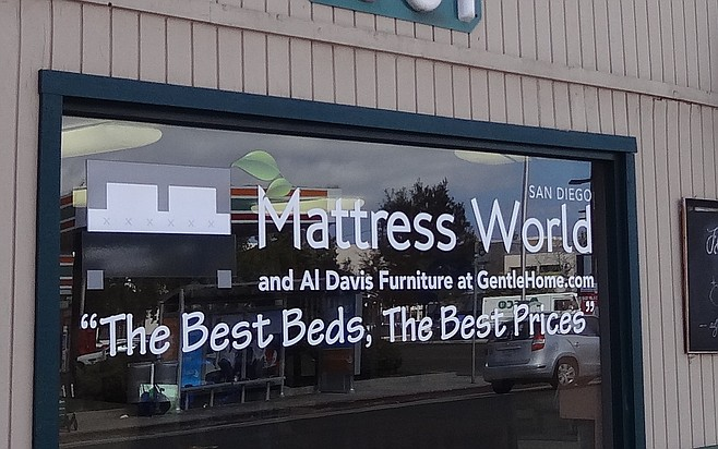 Hillcrest's Mattress World owns its building.