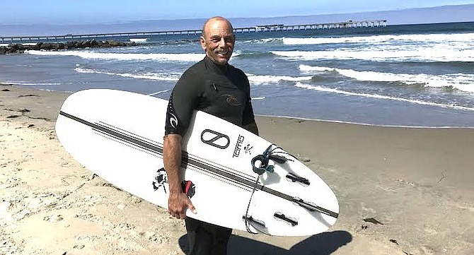 """Bruce Feaeron: """"I go anywhere from IB to Cardiff Reef."""""""