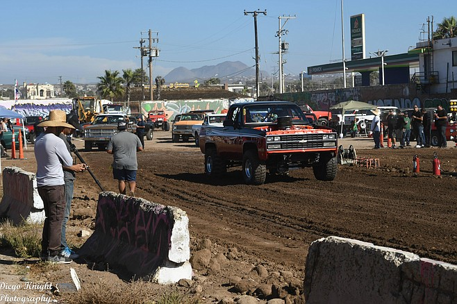 """Racers drove in from Tijuana, Ensenada, San Felipe, Tecate, Mexicali, El Centro — and Chula Vista."""
