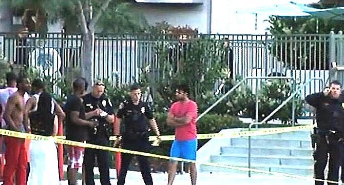 2017 incident at  La Jolla Crossroads apartment complex