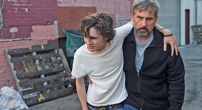 "Beautiful Boy: Expect good acting at its finest when Timothée Chalamet and Steve Carell star in this ""Just Say No"" PSA."