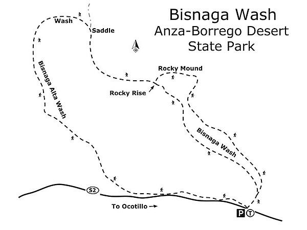 Bisnaga Wash Map