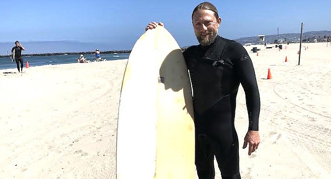 """Mike: """"I only really get into arguments when I am defending other surfers."""""""