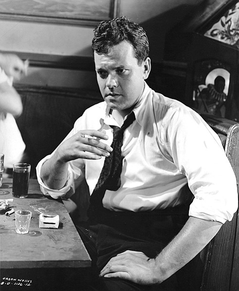 Adam Parfrey had a big mop of black hair and looked rather like Orson Welles in The Lady from Shanghai.