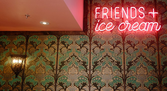 Ice cream makes making friends easy.