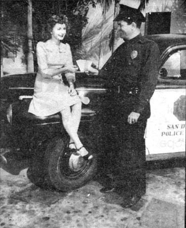 "San Diego, 1942. ""There's nothing to worry about at all. The police have the situation well in hand."""