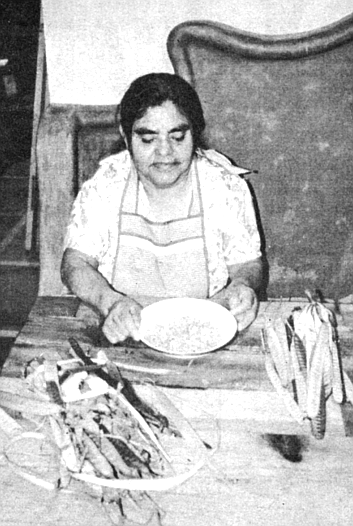 Pia taught Diana Kennedy who spent a week in Zacualpan, how to cook guajes (GWAH-hays), the seeds from a slender, green pod.