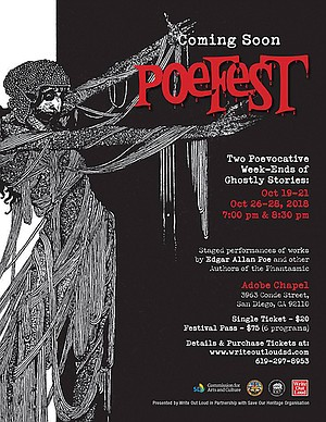 PoeFest poster