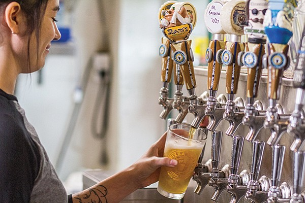 Many first generation San Diego craft brewers cite Pizza Port's Swami's IPA as a hoppy milestone in the local scene.