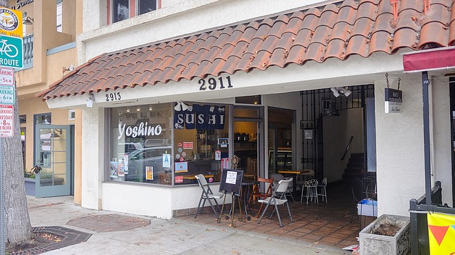 A tiny sushi deli in Carlsbad Village