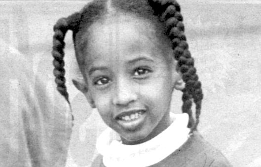 Somali schoolgirl