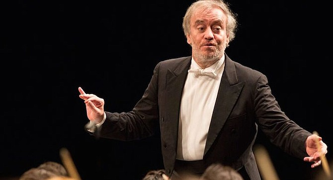 Valery Gergiev and the Mariinsky Orchestra made a special stop in San Diego. - Image by Aline Paley