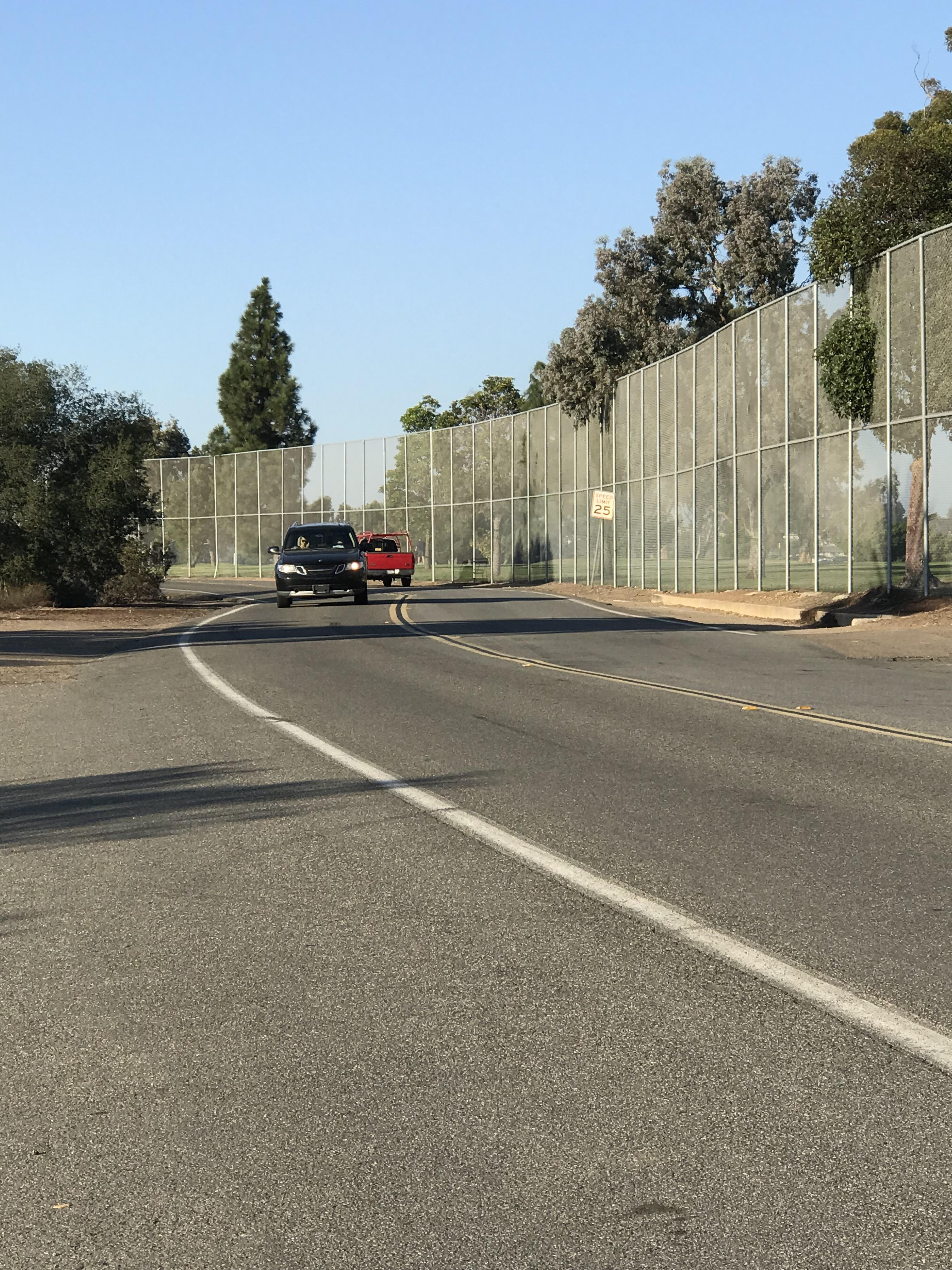 Image by Irvin Gavidor Pedestrians and bicyclists will have to wait three more years for a safer route along Golf Course Drive