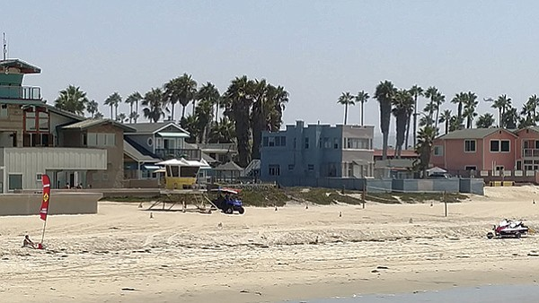 Beverly View from Pier, Imperial Beach