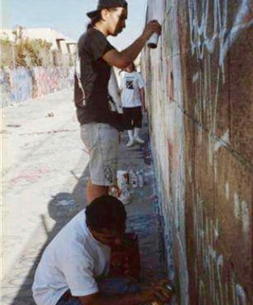 Spek One at Euclid Pit, 1990