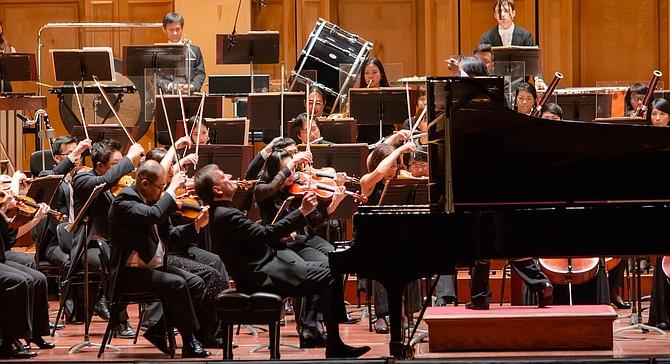 Taiwan Philharmonic came to San Diego on Halloween.