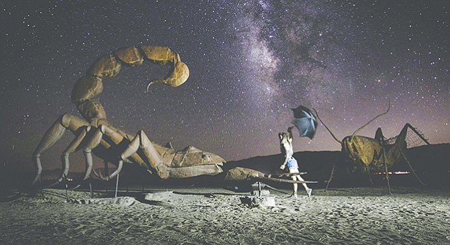Stargazing in Anza-Borrego