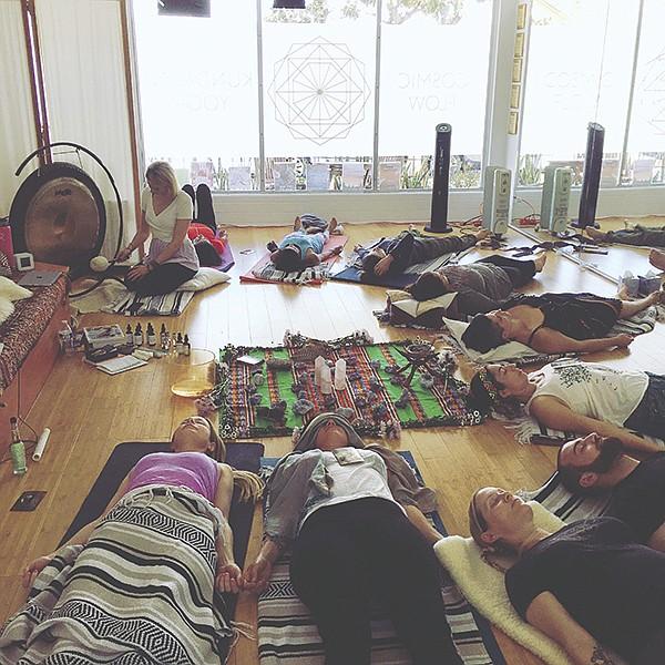 Cosmic Flow Sound Healing