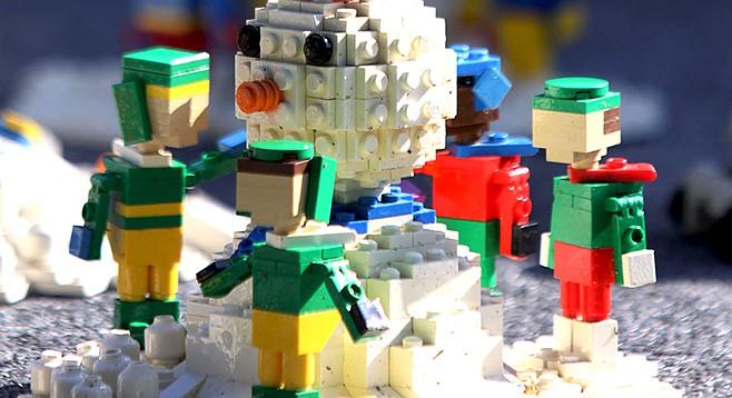 Snow Days at Legoland