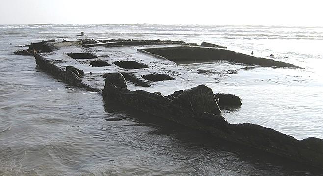 Coronado shipwreck