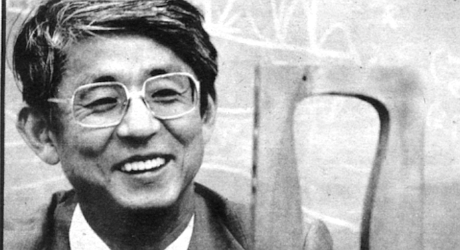 """Tihiro Ohkawa. """"Ohkawa has had a lot of the fundamental ideas that have come out in fusion in the last ten years. In fact, most of them."""" - Image by David Covey"""