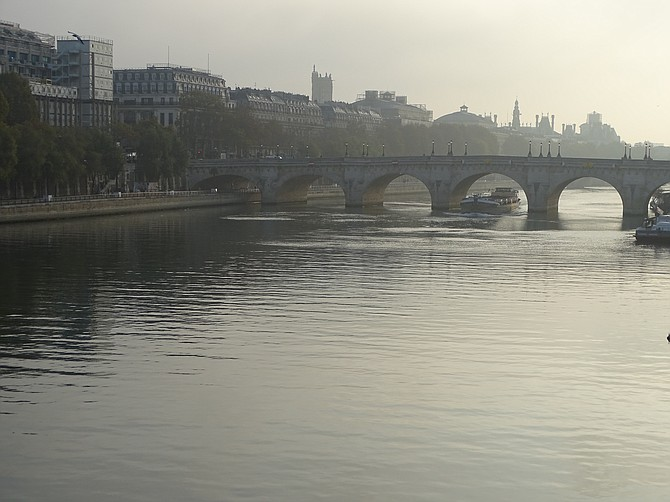 The River Seine - Landscape