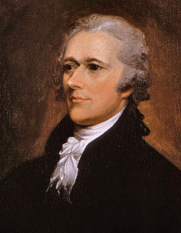 "Alexander Hamilton wrote that most tyrants begin their careers by ""paying obsqeuious court to the people."""