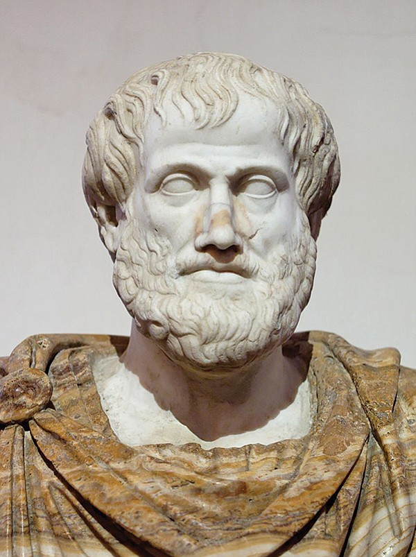 Aristotle's magnanimous man  feels equally at home among the great and the lowly.