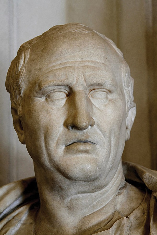 Cicero's severed hands and head were in the Roman Forum by the uncivil Marc Antony.