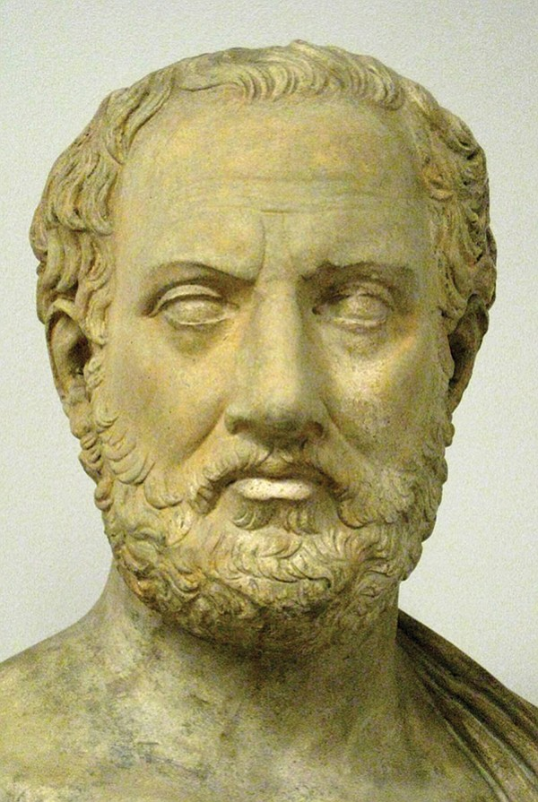 Greece may have trouble now, but it was far worse in Thucydides' day.